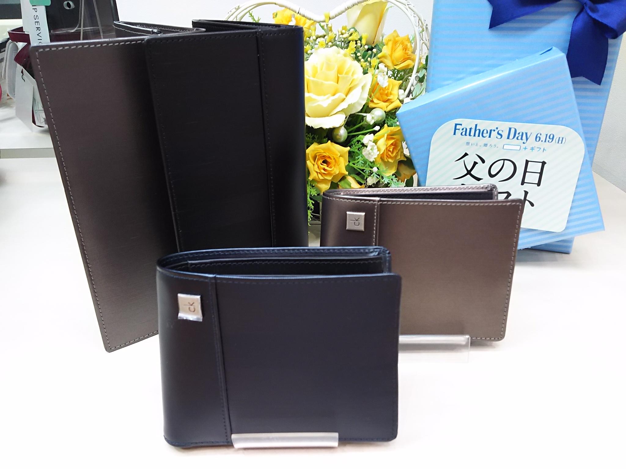 山形フジタ南店より父の日のギフトにオススメ「Calvin klein」財布をいくつかご紹介!