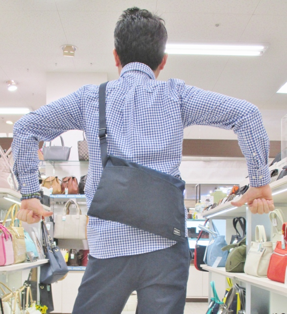 フジタ 福島店より ちょっとのお出掛けにも最適!「PORTER」テラシリーズ ショルダーバッグ