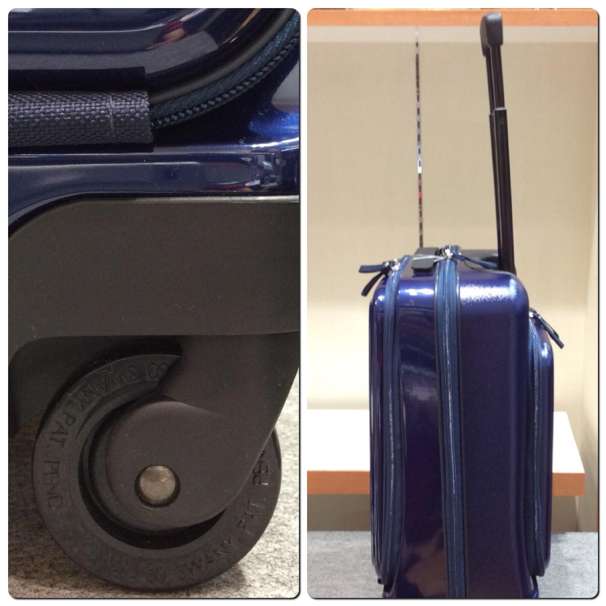 山形フジタ南店より スワニー スーツケース ドートのご紹介です。