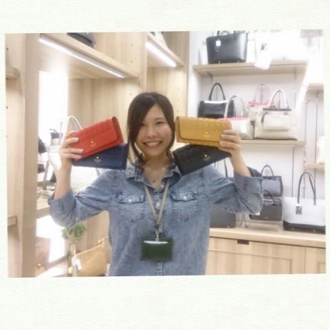 イオンモール天童FioritoFUJITAより☆手触り抜群な「FRAME WORK 」長財布☆