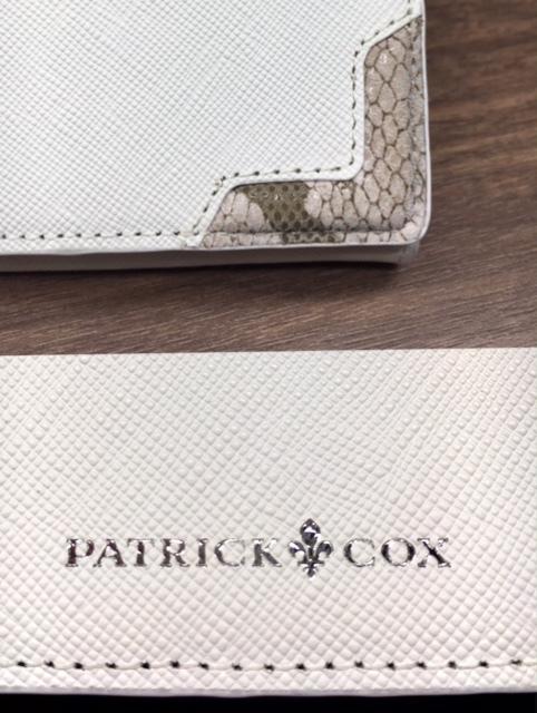 イオンモール天童BditarobyFUJITAよりバイカラ―でオシャレに!「PATRICK COX」長財布