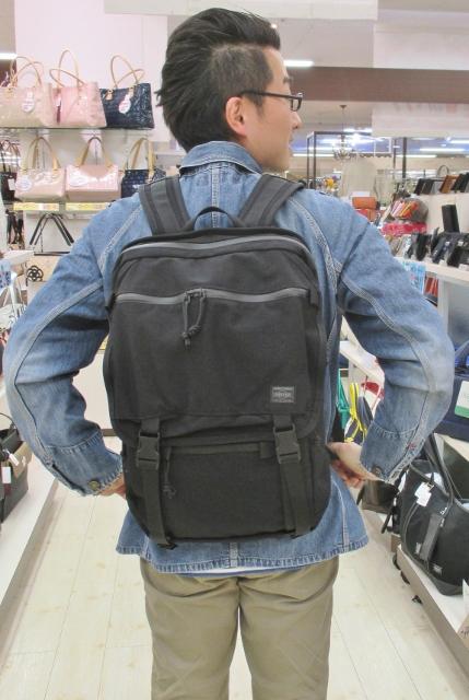 フジタ福島店より通勤や通学にオススメ「PORTER」高機能リュック