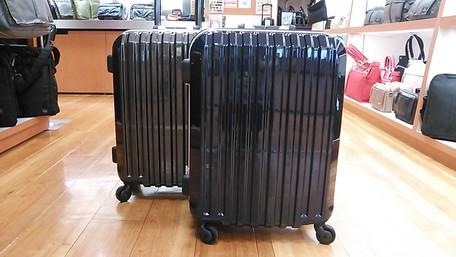 山形フジタ南店より、これからの小旅行にピッタリ!コンパクトで軽いフレームタイプのスーツケースをご紹介!