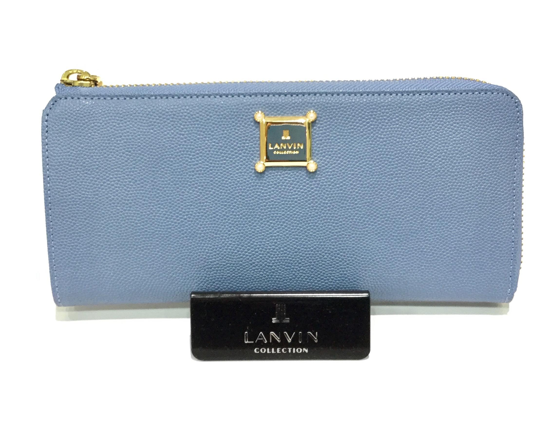 「LANVIN」ロームシリーズ L字型長財布