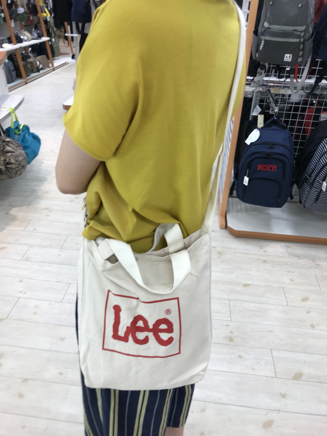 LEE 2way トートバッグ